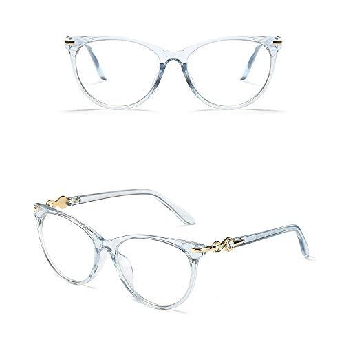 WULE-RYP Polarisierte Sonnenbrille mit UV-Schutz Retro-Brillen mit großem Rahmen, Brillenglas mit optischem Rahmen, Ultraleicht. Superleichtes Rahmen-Fischen, das Golf fährt (Farbe : Blau)