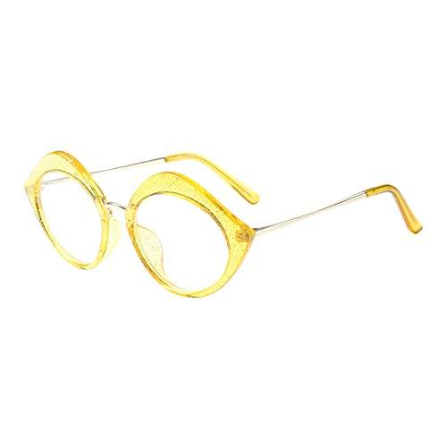 Haodasi Mode Lippen gestalten Brillen Rahmen Damen Frau Spectacles Klare Linse Glasses Korean Chic Persönlichkeit Rahmen Im Freien Optisch Brille