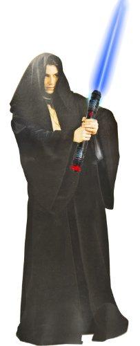 Jedi Krieger Kostüm Robe Kutte Umhang Verkleidung Laserschwert 2 Teile (Jedi Krieger Kostüm)