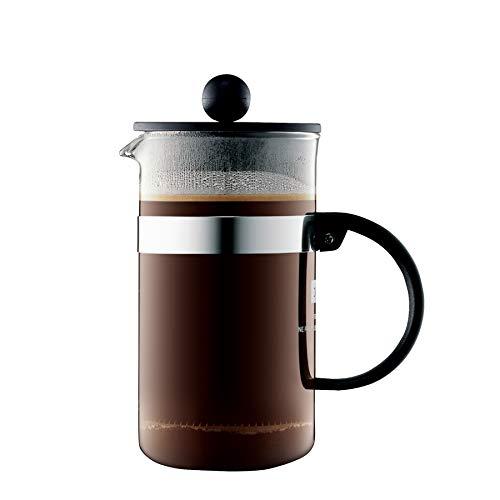 Bodum bistroNOUVEAU Kaffeebereiter (French Press System, Spülmaschinengeeignet), 0,35 liters schwarz