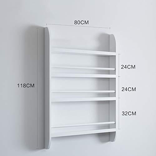 Dimensioni: 40cm // 15.7 Pollici DFFS Espositore a Muro mensola a Muro mensola a Muro mensola a Muro mensola a Muro mensola Sistema di mensole in Legno