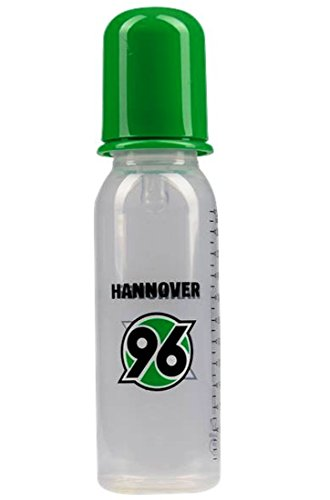 Hannover H 96 Nuckelflasche HANNOVER 96, H96, Baby-Nuckelflasche, Babyflasche, Babytrinkflasche