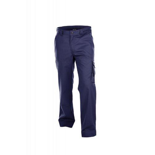 Dassy Liverpool 245g cargo pantaloni da lavoro-tripla ago cucita-navy, (Navy Ago)