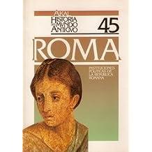 Instituciones políticas de la República romana. (Historia del mundo antiguo)