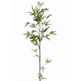 Tige de bambou, 140 cm - Vert/Marron/Jaune pâle (artificielle)