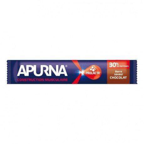 Apurna Barre hyperprotéinée Chocolat 40g