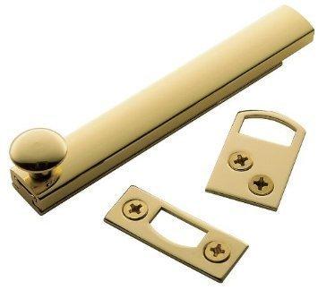 Baldwin 0322031 Surface Bolt, Unlaquered Bright Brass by Baldwin (Möbel Baldwin)