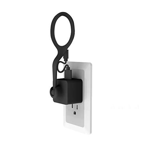 7Lucky für Nest Cam Wechselstromausgang Halterung Indoor, 360 Adjustable Kamerawinkel, Just Plug...