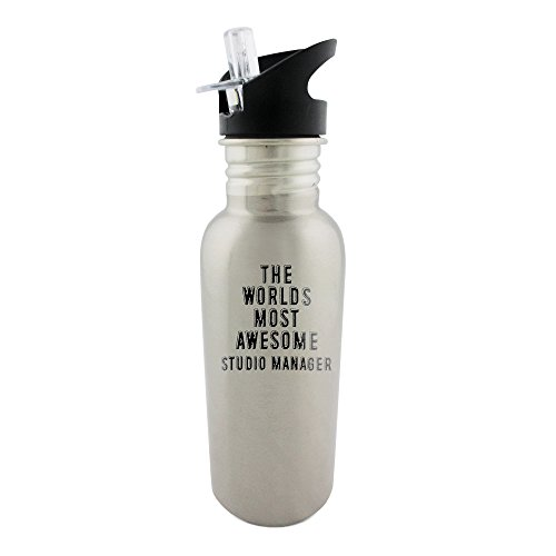stainless-steel-bottle-with-straw-top-of-the-worlds-most-awesome-studio-manager