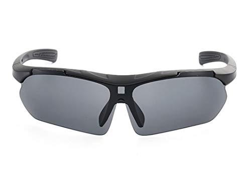Beydodo Schutzbrille für Brillenträger Sportbrille Outdoor Sonnenbrille Schwarz Grau Schutzbrillen zum Schutz der Augen