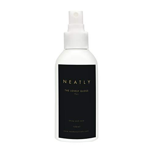 Natürliches Haaröl Spray von Neatly The Lovely Gloss | Haar Öl trockenes Haar | 100ml | Haaröl ohne Silikon und Parabene | ätherisches Öl