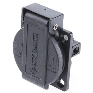 ABL Sursum 1 Gang Electrical Socket, NEMA 5-15R, 15A, Panel Mount, IP44