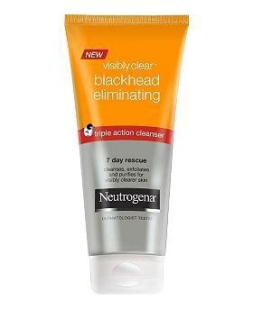 Johnson & Johnson Ltd Neutrogena Visibly Clear Anti-Mitesser-SOS-Reinigungskur, Reduzierung von Mitessern in 7Tagen
