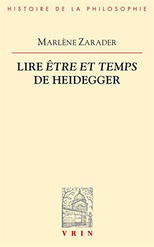 Lire Être et temps de Heidegger