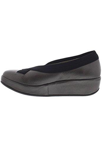 FLY London , Chaussures de ville à lacets pour femme Gris