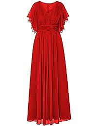 Kleid rot maxi
