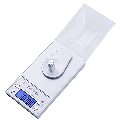 INFORMACIÓN DEL PRODUCTO:   caracteristicas:   Escala de capacidad: 0,001 g a 10 g   4 modos de pesaje: CT / DWT / G / GN      Especificaciones del producto:   Precisión: (0.2% + LSD)   Tamaño: 6.5 × 11.5 × 3.5 cm (2.5 × 4.5 × 1.4_)   Diámetro de ...