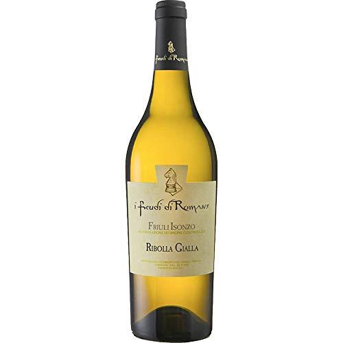 Ribolla Gialla IGT | Friuli Isonzo | I Feudi di Romans | Vino Bianco Tipico del Friuli | Bottiglia 75 Cl | Idea Regalo