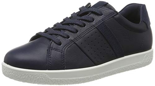 Ecco Damen SOFT 1 W Sneaker,Blau (Marine 50595), 39 EU