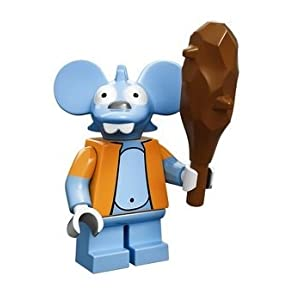 The Simpsons Lego Mini Figure Itchy 3