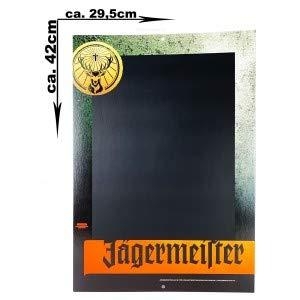 Jägermeister Tafel Werbetafel aus Pappe ca. 29,5x42cm