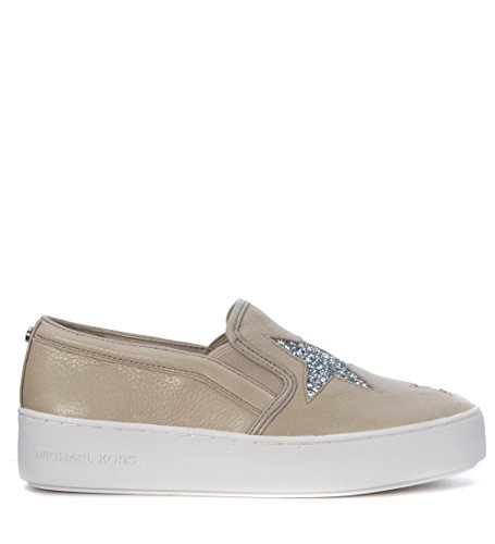 MICHAEL KORS Scarpe Donna Pia Slip On Primavera Estate Art 43R7PAFP1L D 092 A16 Cement