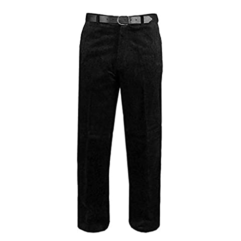 Stylo Online® Mens Cord Trousers Corduroy Cotton Formal Casual Business
