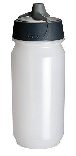 Tacx Trinkflasche Shanti 500 ml mit Membranverschluß und Füllstandsanzeige Transparent, 10 x 10 x 25 cm -
