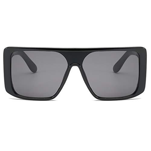 POTOU Sonnenbrille Brille Brillen Mode Mann Frauen unregelmäßige Form Sonnenbrille Brille Vintage Retro-Stil (G)