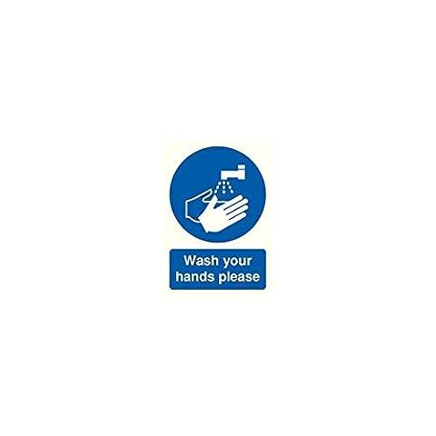 SIGNSLAB MD05851R Safety Sign