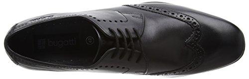 Bugatti 311131031000, Richelieu homme Noir (schwarz 1000)
