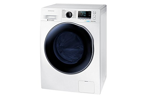 Samsung WD90J6410AW 9kg Wash 6kg Dry EcoBubble 1400rpm Freestanding Washer Dryer – White