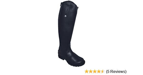 fe5bfef36c3 Mark Todd FLEECE LINED TALL WINTER BOOT Child Black Leather Riding Sizes  31-35 Riding Boots ...