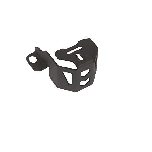 MyTech - Protezione serbatoio olio freno anteriore anodizzato Nero per - BMW R 1200 GS Adventure/BMW R 1200 GS raffreddato ad Aria fino al 2012