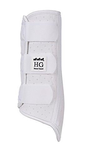 Airflow Gamaschen HorseGuard, weiß, atmungsaktiv | Sehnenschoner