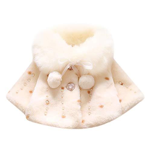 Allence Bekleidung Baby Kleinkind Mädchen Winterjacke Kinderjacken Fell Warm Winter Coat Mantel Jacke Dicke warme Kleidung(0-24Monate) -