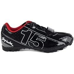 Spiuk 15 MTB - Zapatilla de ciclismo unisex, color negro / blanco, talla 37