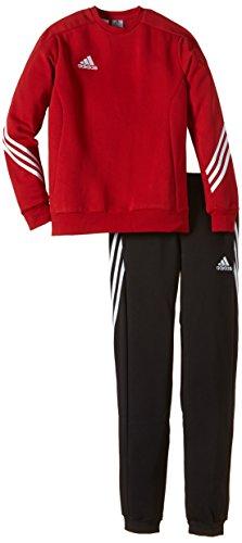 adidas Unisex - Kinder Trainingsanzug Sere14 Sweat Y, power rot/weiß, 164, F81930