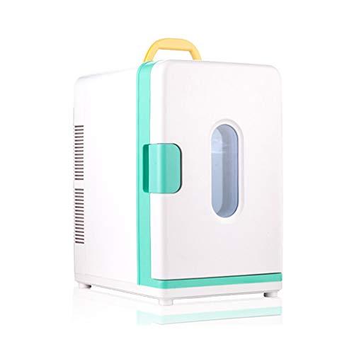 Car Refrigerator Auto Kühlschrank Schlafsaal Mini Kühlschrank Kaltkosmetik Muttermilch Lagerung Milch Kühlbox 18L Dual-Core-Kühlung Kühl und warm