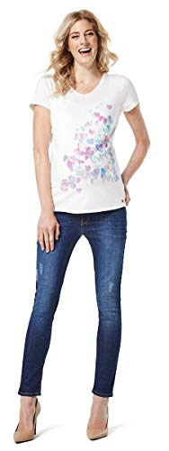 Esprit Maternity Damen Slim Umstands Jeans O8C009 (40 (Herstellergröße: 40/32), Darkwash O198X003 -
