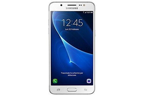 Samsung SM-J510FZWUITV Galaxy J5 (2016) DUOS Smartphone 13,2 cm (5,2 Zoll) Touch-Display, 16 GB Speicher, Android 5.1) weiß