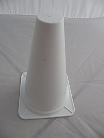Multi Sports 17cm Training Cones - Set of 20 (White)