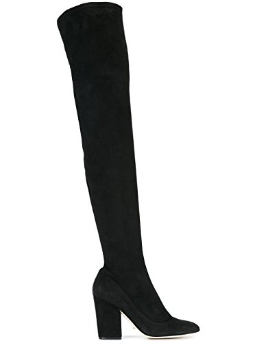 sergio-rossi-femme-a75290maf7141000-noir-suede-bottes