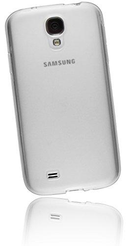 mumbi TPU Schutzhülle für Samsung Galaxy S4 Hülle transparent weiss (Neue Samsung Galaxy S4 Telefon)