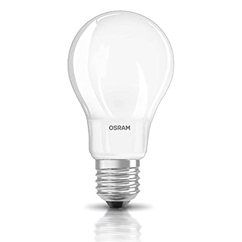 Osram LED Star Classic A, in Kolbenform mit E27-Sockel, Nicht Dimmbar, Ersetzt 40 Watt, Matt, Warmweiß - 2700 Kelvin, 1er-Pack