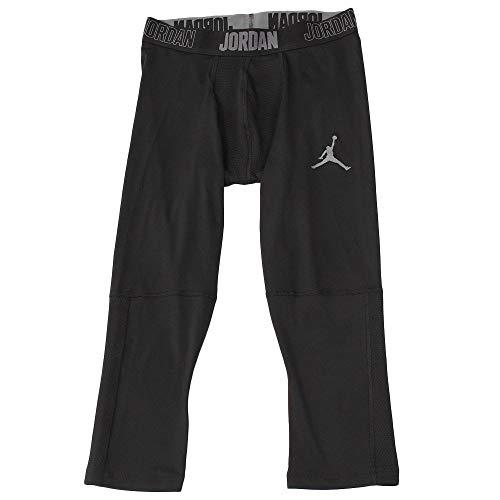 Nike Herren Jordan Dri-FIT 23 Alpha 3/4 Tight, Black/Dark Grey, L