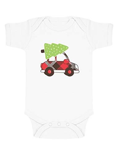 Green Turtle T-Shirts Vêtement bébé Cadeau de Noël Réveillon Body Bébé Manche Courte 9-12 Mois Blanc