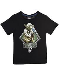 Star Wars Kinder T-Shirt kurzarm Top Oberteil für Jungen und Mädchen mit Star Wars Motiven