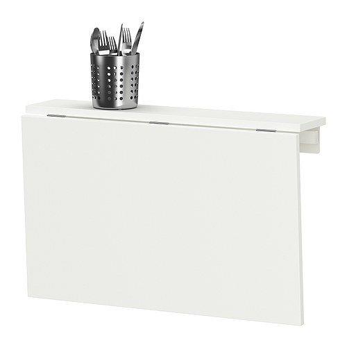 Ikea norberg tavolo da parete pieghevole bianco tavoli - Tavolo richiudibile ikea ...