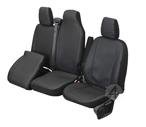 Passgenaue Kunstleder Sitzbezüge VIP ideal angepasst 1+2 (3-Sitzer) Fahrzeugspezifisch Kunstleder | 4D-Z4L-DV-VIP-TC3M-11FT-29